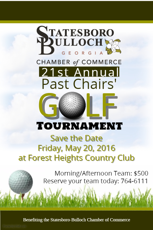 21st Annual Past Chairs' Golf Tournament @ Forest Heights Country Club